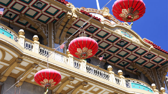 San Francisco's Chinatown is an active enclave that retains it's own customs, language and identity.