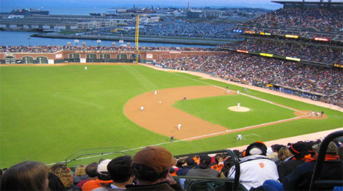 AT&T Park, home of World Series Champions, The San Francisco Giants!
